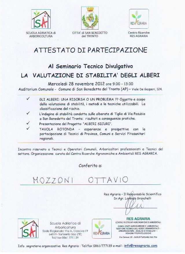 VTA San Benedetto Tr