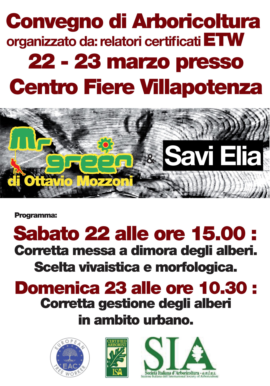 Convegno Arboricoltura - Fiera del Verde - Mr Green