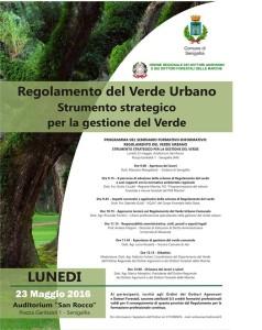 MR GREEN Regolamente del Verde Marche